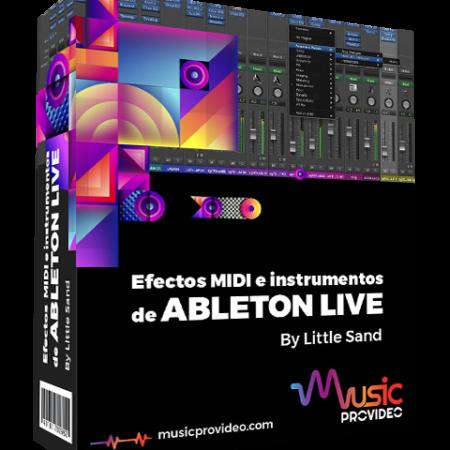 Efectos MIDI e Instrumentos de  Ableton Live